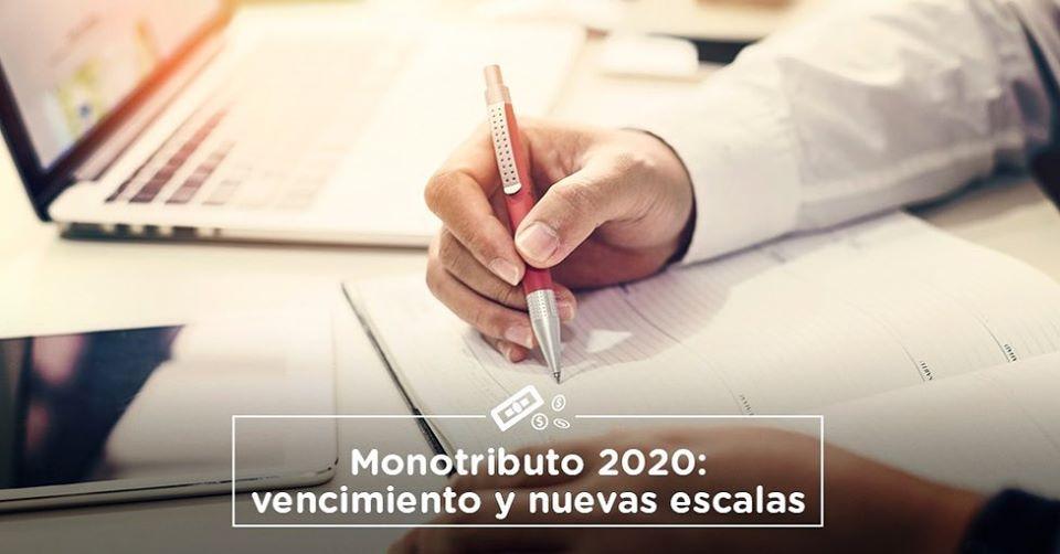 Monotributo 2020: Nuevo valores y escalas.