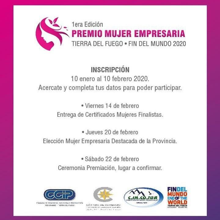 Premio Mujer Empresaria de Tierra del Fuego