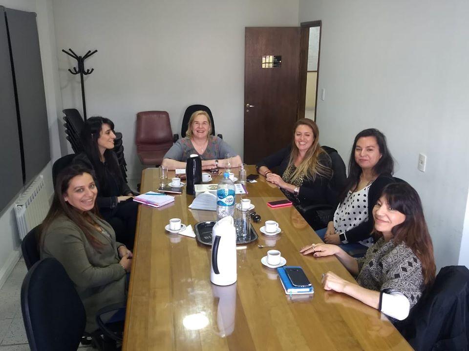 Reunión de mujeres y Secretaria de la Mujer