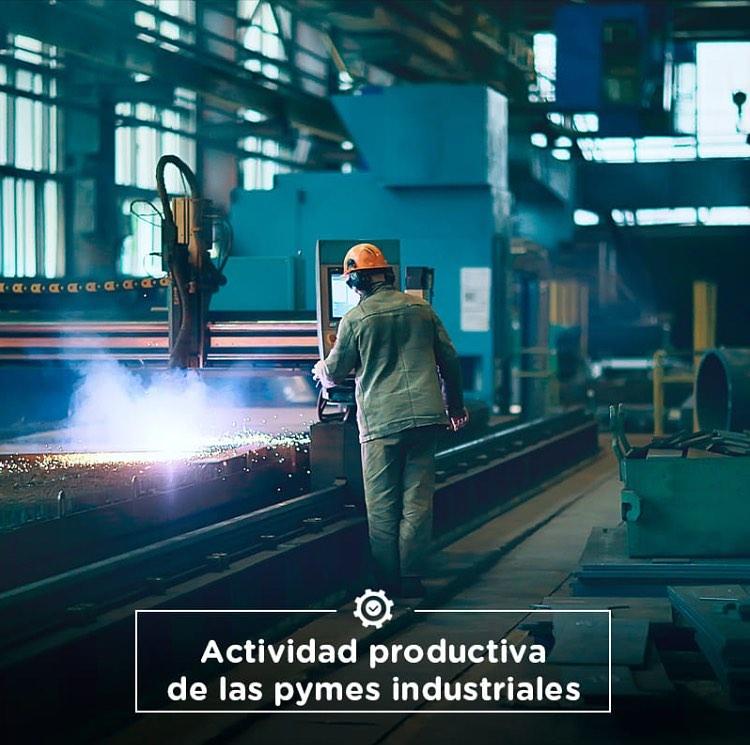 Actividad productiva de las pymes industriales