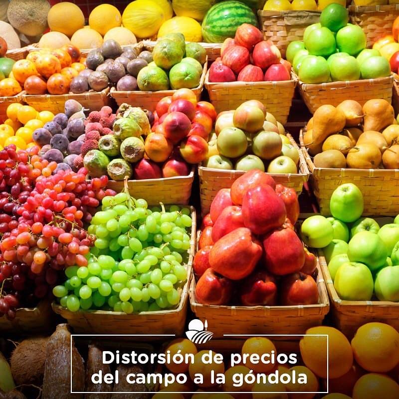 POR LA PERA Y LA NARANJA, LOS CONSUMIDORES PAGARON MÁS DE 13 VECES DEL VALOR DEL PRODUCTO EN EL CAMPO
