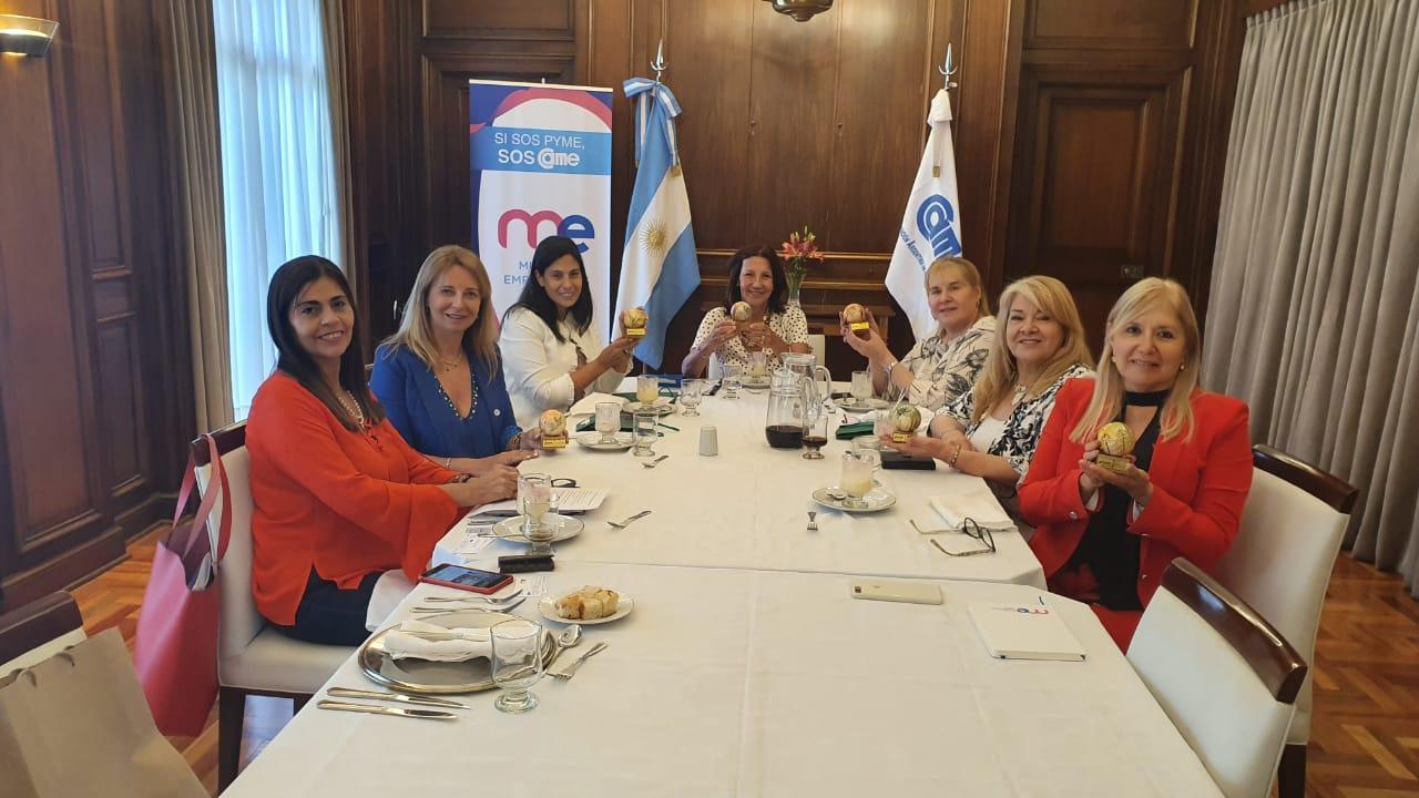 Almuerzo de Mujeres Empresarias de la Confederación Argentina de la Mediana Empresa (MECAME)