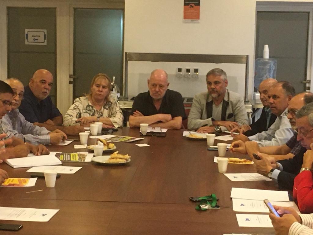 Reunión en CAME de Comisión de Fronteras y Lucha Contra la Venta Ilegal
