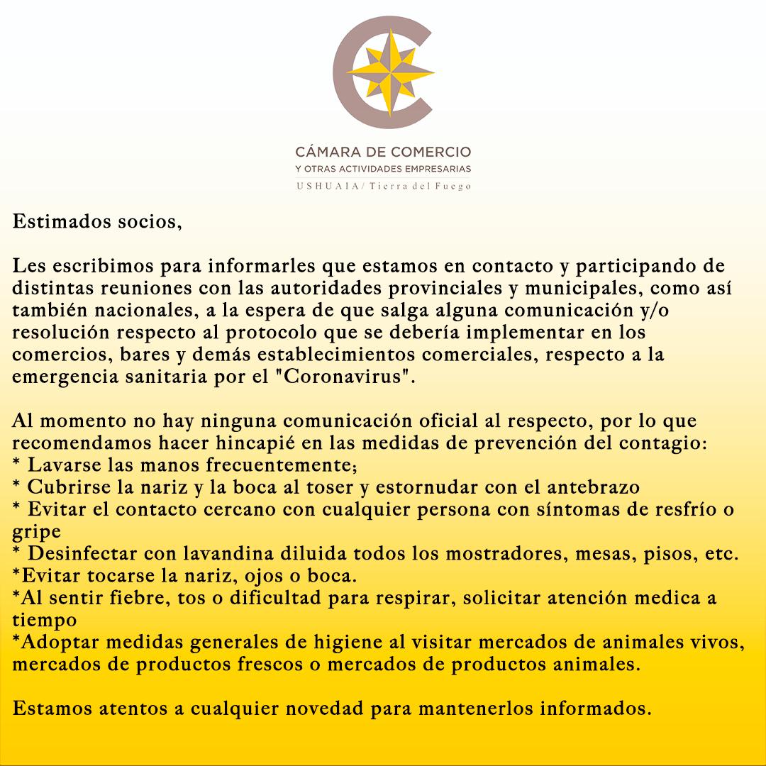 Información acerca del Coronavirus (COVID-19)