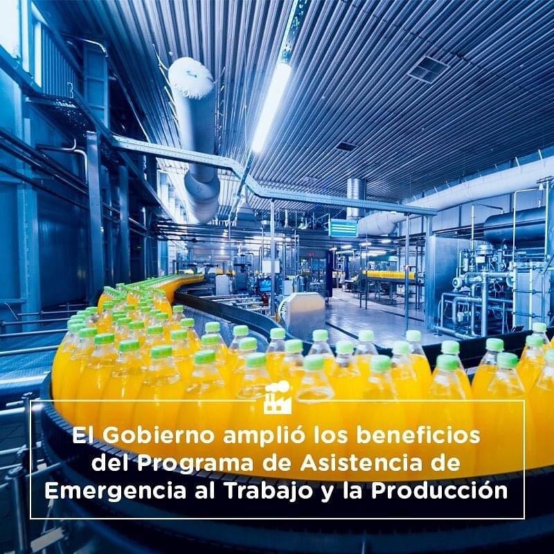 El gobierno amplió los beneficios del Programa de Asistencia de Emergencia al Trabajo y la Producción