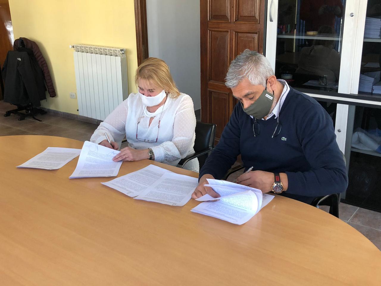 Acuerdo entre la Cámara de Comercio y el Centro de Empleados de Comercios de Ushuaia