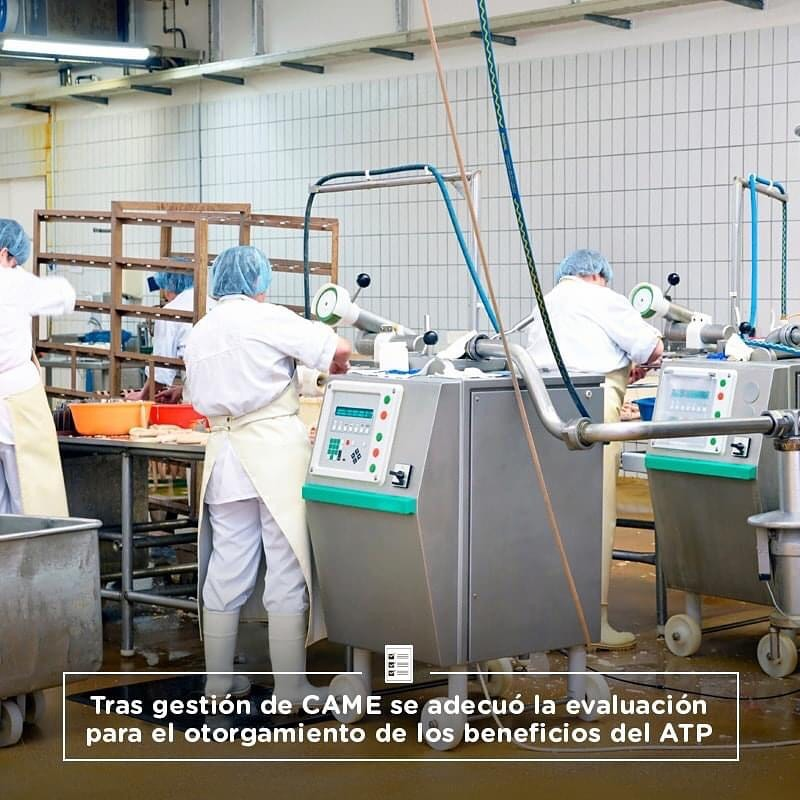 Tras gestión de CAME se adecuó la evaluación  para el otorgamiento de los beneficios del ATP
