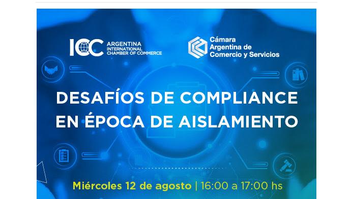 """Se llevará a cabo un webinario sobre """"Desafíos de Compliance en Época de Aislamiento"""" de la C.A.C.S"""